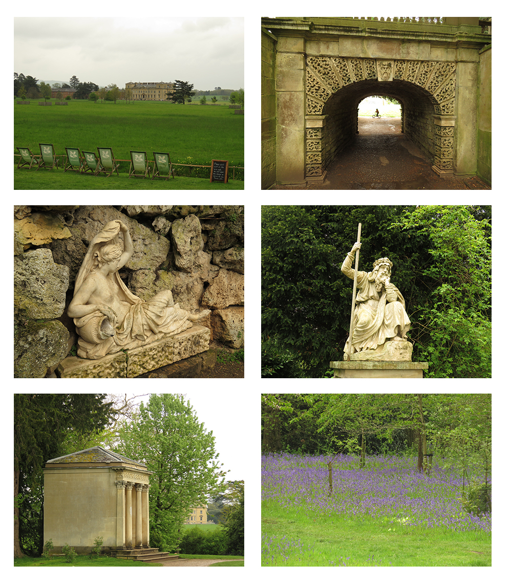 Images from the garden at the National Trust's Croome Court